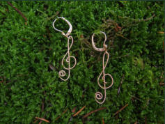 G-earRings...Ohrringe aus Gitarrensaiten
